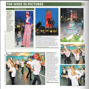 "Boca Raton Forum's ""This Week In Photos"" features three photos of the Grandview Dance Academy rehearsal."