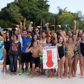 Pride Swimmers Exceed Fundraising Goal