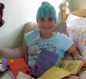 Fourth grade student Randall is experiencing a relapse of a rare form of cancer and is currently undergoing chemotherapy treatments.