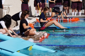 Physics Students Compete in Grandview Regatta