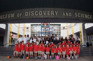 Innovation Track students in Grades 1 – 12 visited the Museum of Discovery and Science in Ft. Lauderdale.